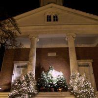 Christmas Display at the Clock Church